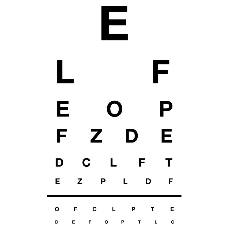 Distance Vision Test